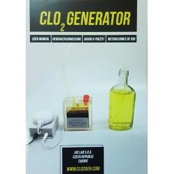 Generátor 2020 ultračistého oxidu chloričitého